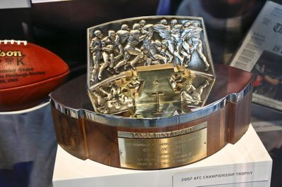 AFC Conference Playoff Trophy Replica, Lamar Hunt Trophy.