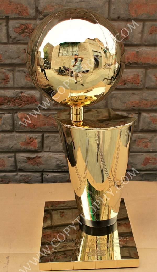 NBA Finals Trophy. Larry O Brien Trophy Replica. NBA playoffs Trophy Replica.
