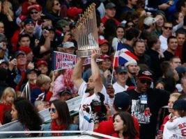 BOSTON RED SOX WORLD SERIES TROPHY