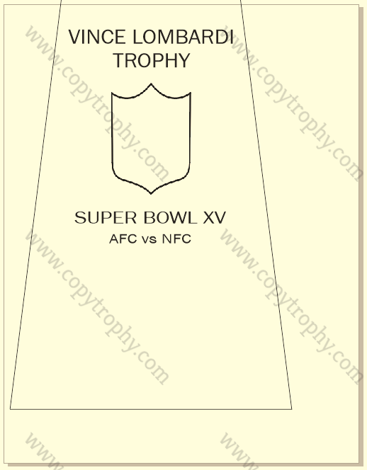 SUPER_BOWL_15_RAIDERS-1 Vince Lombardi Trophy, Super Bowl 15, XV Oakland Raiders