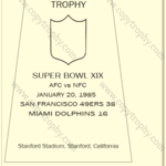 SUPER_BOWL_19_SF_49ers-1-150x150 Vince Lombardi Trophies, San Francisco 49ers Collection