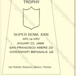 SUPER_BOWL_23_SF_49ers-1-150x150 Vince Lombardi Trophies, San Francisco 49ers Collection