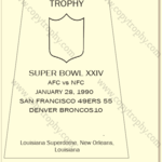 SUPER_BOWL_24_SF_49ers-1-150x150 Vince Lombardi Trophies, San Francisco 49ers Collection