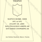 SUPER_BOWL_29_SF_49ers-1-150x150 Vince Lombardi Trophies, San Francisco 49ers Collection