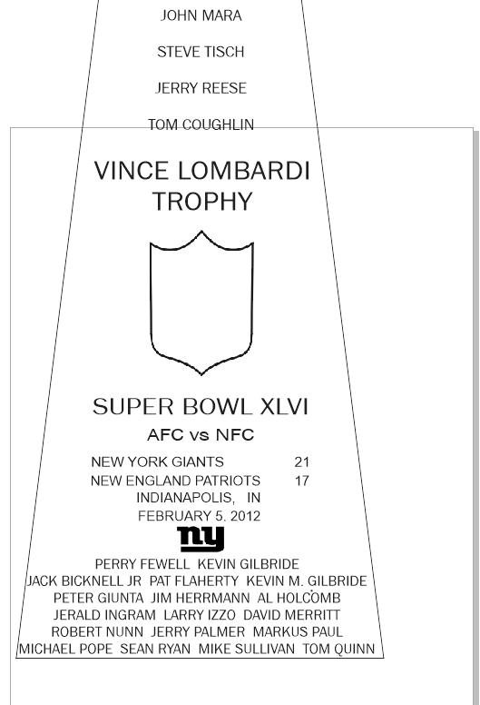 SUPER_BOWL_46_GIANTS-2 Vince Lombardi Trophy, Super Bowl 46, XLVI New York Giants