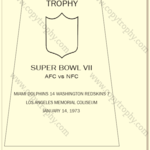 SUPER_BOWL_7_DOLPHINS-1-150x150 Vince Lombardi Trophies, Miami Dolphins Super Bowl Collection