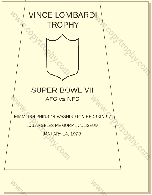DOLPHINS OFFICIAL ENGRAVING