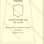 SUPER_BOWL_8_DOLPHINS-1-150x150 Vince Lombardi Trophies, Miami Dolphins Super Bowl Collection