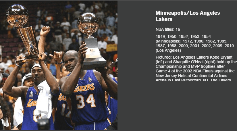 LA LAKERS LARRY O BRIEN TROPHY